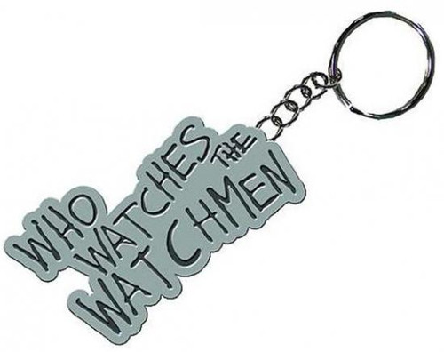 "NECA ""Who Watches The Watchmen"" Metal Keychain"