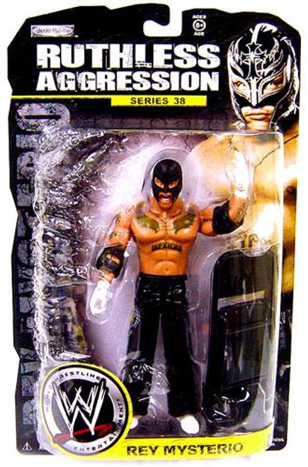 WWE Wrestling Ruthless Aggression Series 38 Rey Mysterio Action Figure