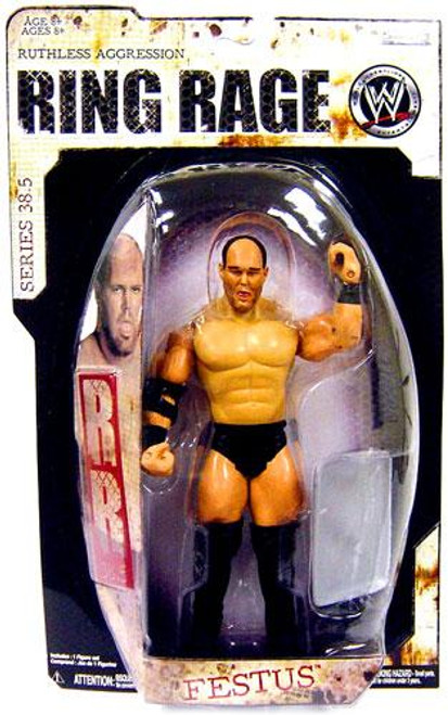 WWE Wrestling Ruthless Aggression Series 38.5 Ring Rage Festus Action Figure