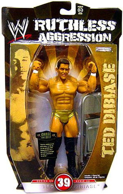 WWE Wrestling Ruthless Aggression Series 39 Ted DiBiase Action Figure