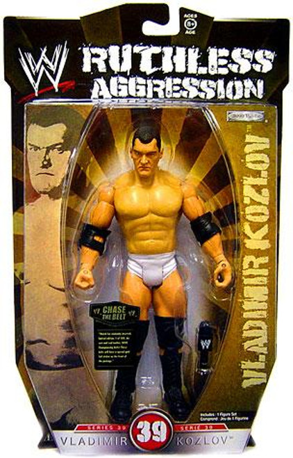 WWE Wrestling Ruthless Aggression Series 39 Vladimir Kozlov Action Figure