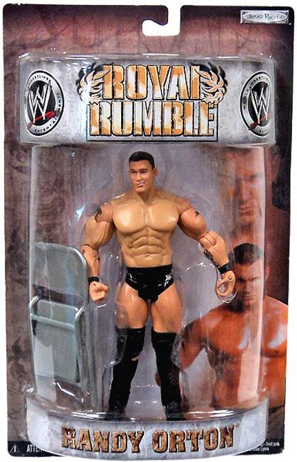 WWE Wrestling Pay Per View Royal Rumble 2008 Randy Orton Action Figure