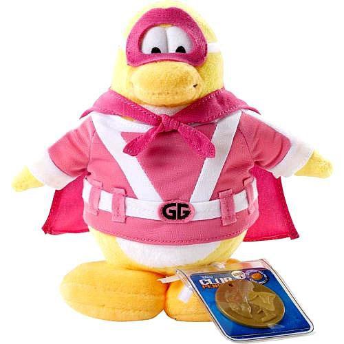 Club Penguin Series 2 Gamma Girl 6.5-Inch Plush Figure
