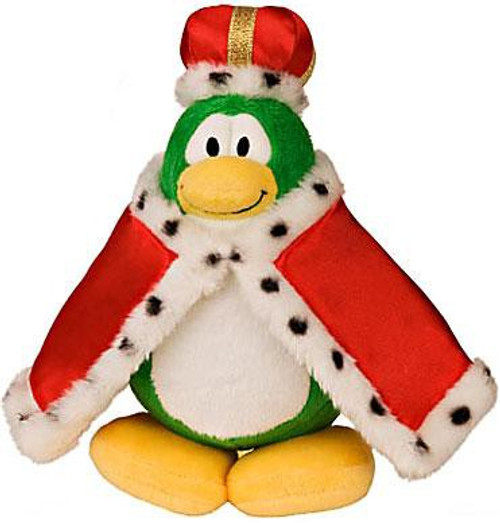 Club Penguin Series 2 King Roi 6.5-Inch Plush Figure [Version 1]
