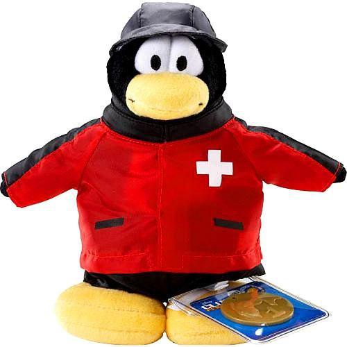 Club Penguin Series 2 Rescue Squad 6.5-Inch Plush Figure