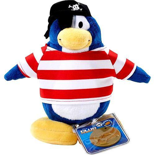 Club Penguin Series 2 Shipmate 6.5-Inch Plush Figure [Version 1]