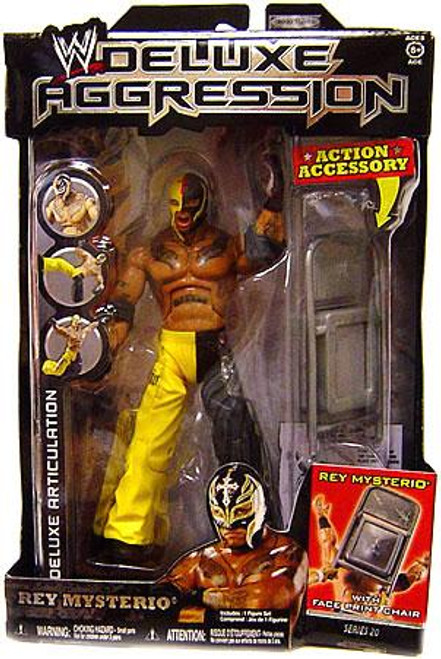 WWE Wrestling Deluxe Aggression Series 20 Rey Mysterio Action Figure
