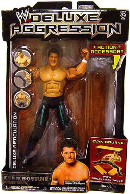 WWE Wrestling Deluxe Aggression Series 20 Evan Bourne Action Figure