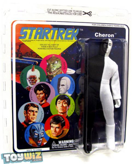 Star Trek The Original Series Series 6 Cloth Retro Cheron Action Figure