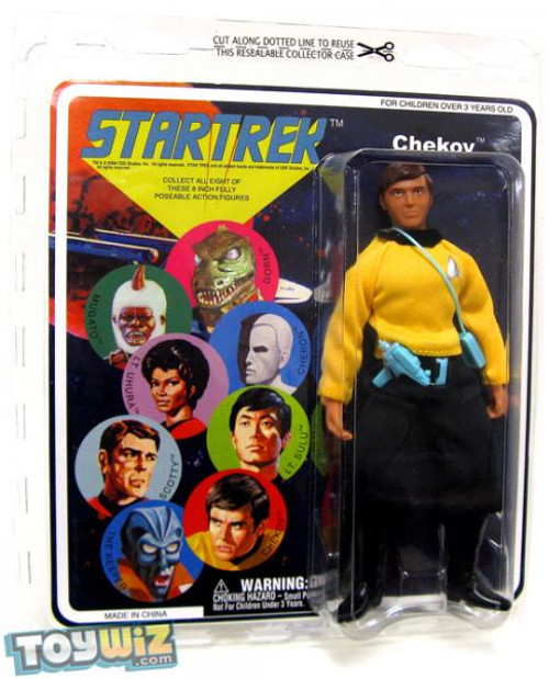 Star Trek The Original Series Series 6 Cloth Retro Ensign Pavel Chekov Action Figure