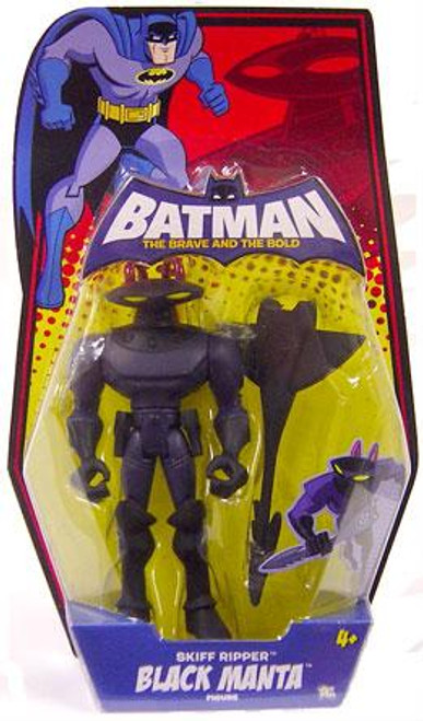 Batman The Brave and the Bold Skiff Ripper Black Manta Action Figure