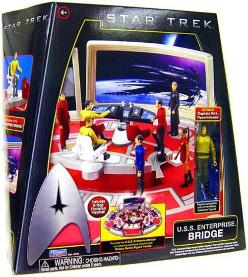 Star Trek 2009 Movie U.S.S. Enterprise Bridge Action Figure Playset