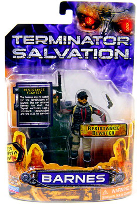 The Terminator Terminator Salvation Barnes Action Figure