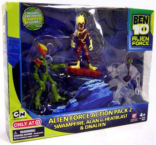 Ben 10 Alien Force Action Pack 2 Exclusive Action Figure Set [Set #1]