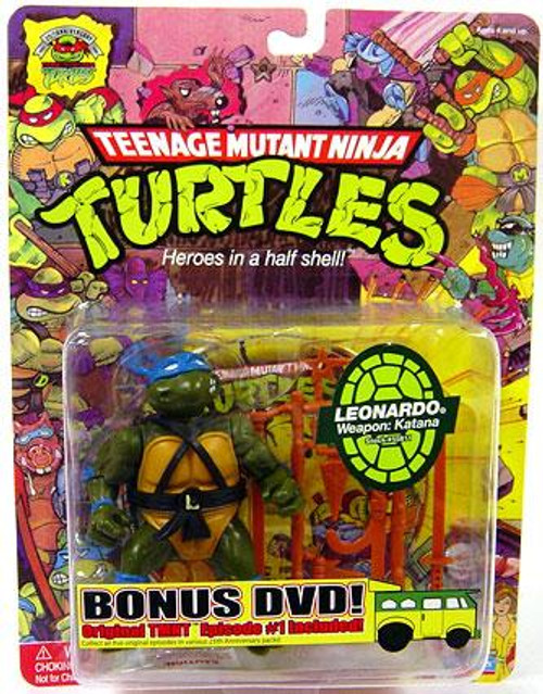 Teenage Mutant Ninja Turtles 1987 25th Anniversary Leonardo Action Figure