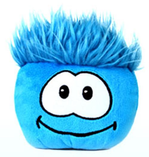Club Penguin Blue Puffle 4-Inch Plush [No Code]