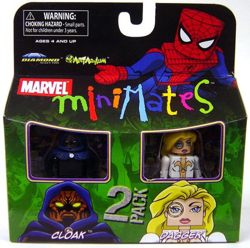 Marvel Minimates Series 23 Cloak & Dagger Minifigure 2-Pack