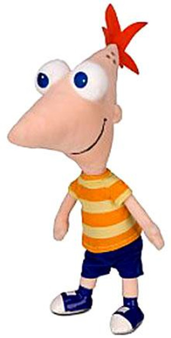 Disney Phineas and Ferb Talking Phineas 14-Inch Plush