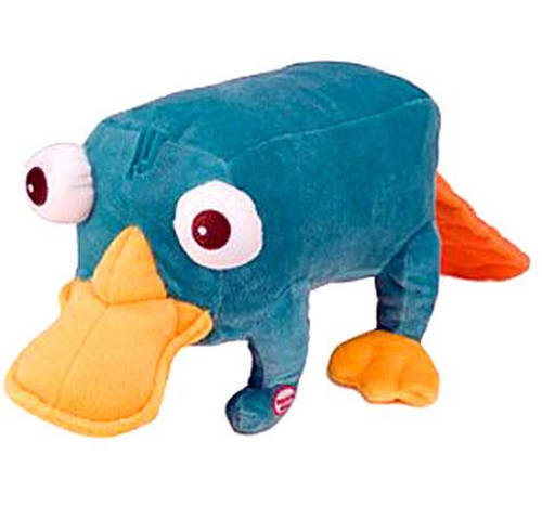 Disney Phineas and Ferb Talking Perry 14-Inch Plush