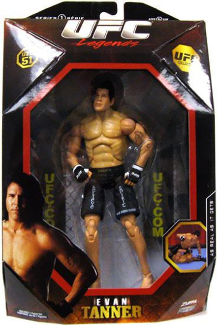 UFC Collection Series 1 Evan Tanner Action Figure [Legends, UFC 51]