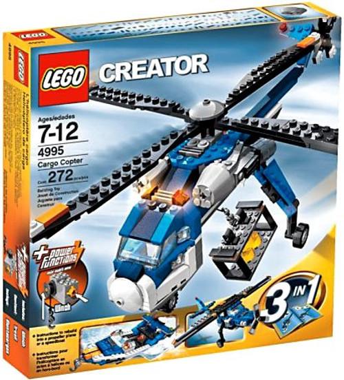 LEGO Creator Cargo Copter Set #4995