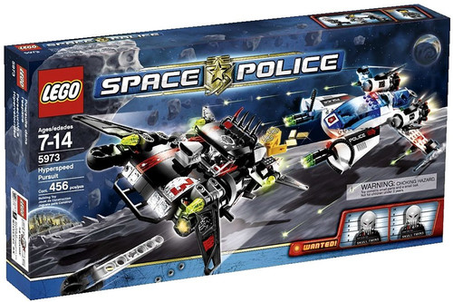 LEGO Space Police Hyperspeed Pursuit Set #5973