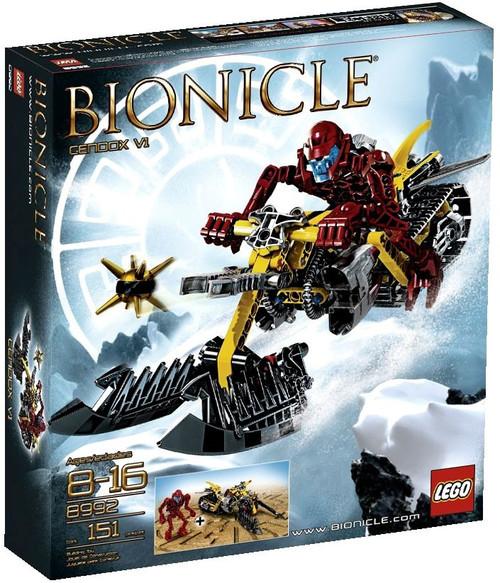 LEGO Bionicle Cendox V1 Set #8992
