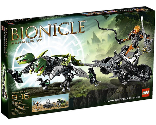 LEGO Bionicle Baranus Set #8994