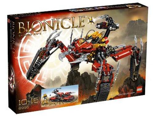 LEGO Bionicle Skopio XV-1 Set #8996