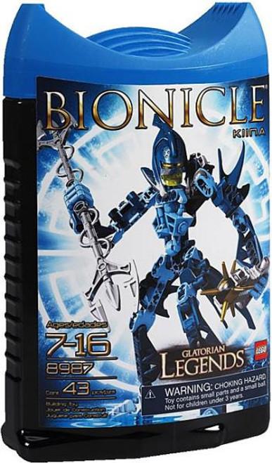 LEGO Bionicle Glatorian Legends Kiina Set #8987