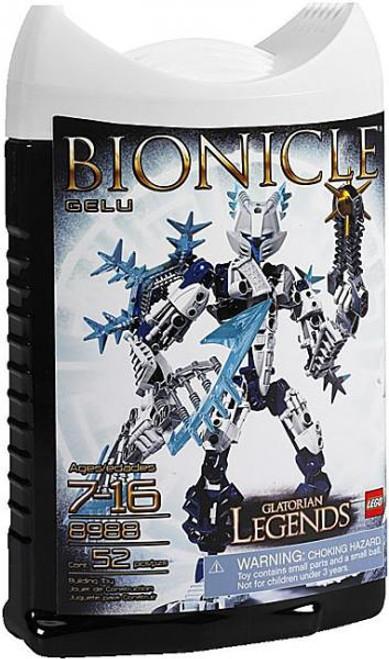 LEGO Bionicle Glatorian Legends Gelu Set #8988