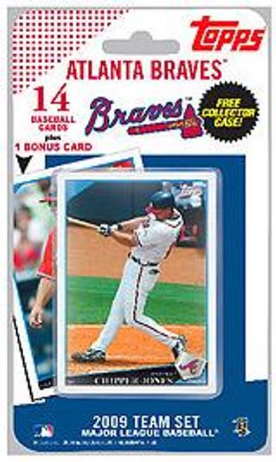 MLB 2009 Topps Baseball Cards Atlanta Braves Team Set [Includes Bobby Cox Card]