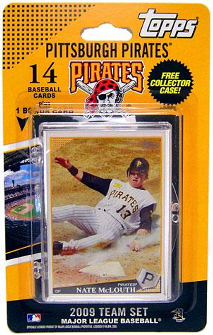 MLB 2009 Topps Baseball Cards Pittsburgh Pirates Team Set [Includes PNC BallPark Card]