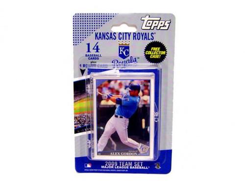 MLB 2009 Topps Baseball Cards Kansas City Team Set