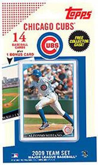 MLB 2009 Topps Baseball Cards Chicago Cubs Team Set
