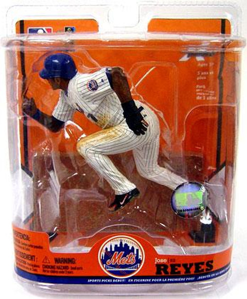 McFarlane Toys MLB New York Mets Sports Picks Series 22 Jose Reyes Action Figure [Black & Blue Wristband Variant]