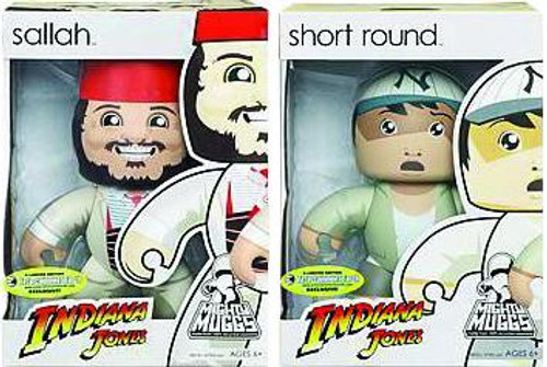 Indiana Jones Mighty Muggs Short Round & Sallah Exclusive Vinyl Figures