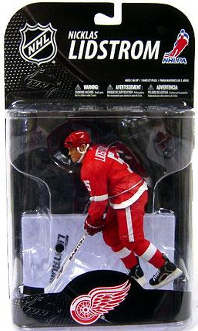 McFarlane Toys NHL Detroit Red Wings Sports Picks Series 20 Nicklas Lidstrom Action Figure [Stanley Cup Patch Variant]