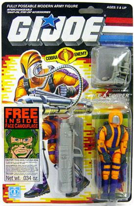 GI Joe Vintage H.E.A.T. Viper Action Figure [Version 1]
