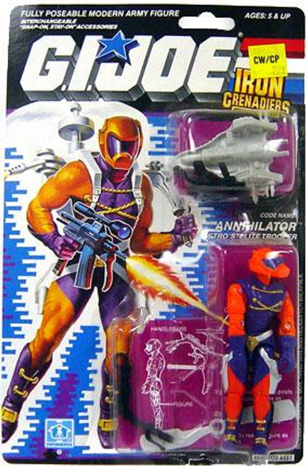 GI Joe Vintage Annihilator Action Figure