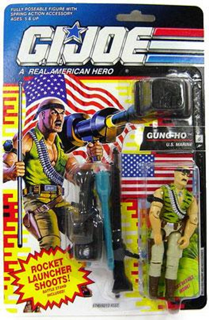 GI Joe Vintage Gung-Ho Action Figure [Version 3]