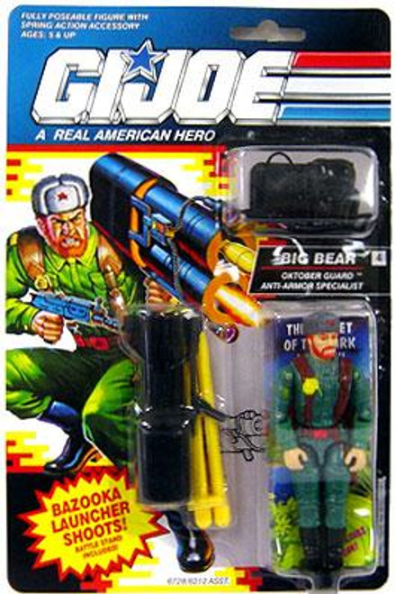 GI Joe Vintage Big Bear Action Figure