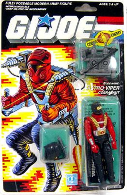 GI Joe Vintage Astro Viper Action Figure