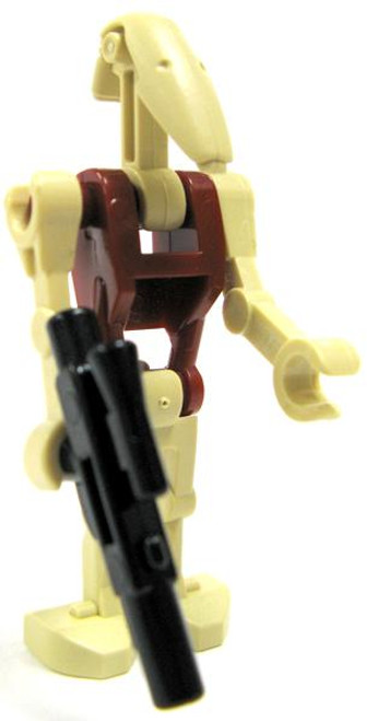 LEGO Star Wars Loose Battle Droid Security Minifigure [Version 2 Loose]