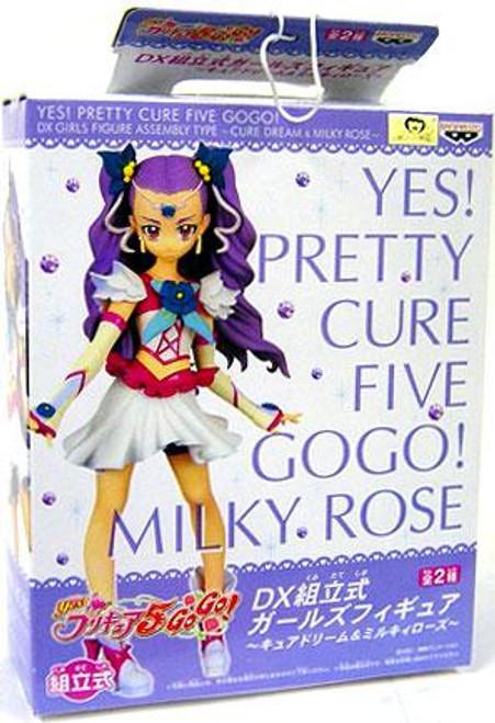 Yes! PreCure Go Go! DX Girls Milky Rose PVC FIgure