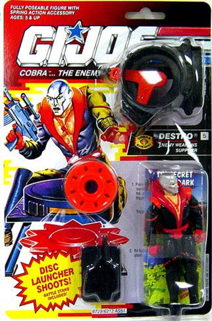 GI Joe Vintage Destro Action Figure [Version 3]