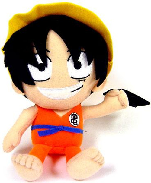 Dragon Ball One Piece Luffy as Goku 6-Inch Plush
