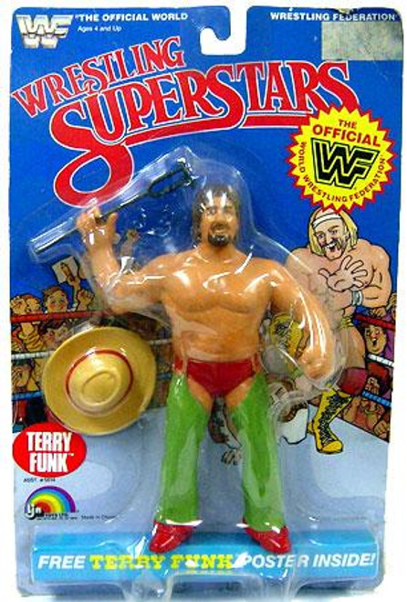 WWE Wrestling WWF Wrestling Superstars Terry Funk Action Figure