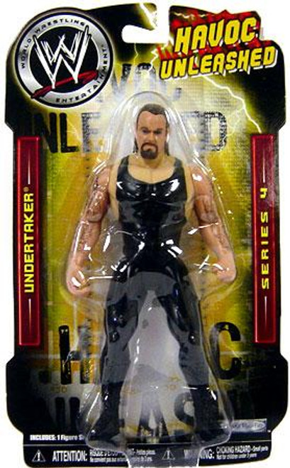WWE Wrestling Havoc Unleashed Series 4 Undertaker Action Figure