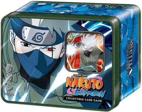 Naruto Shippuden Card Game Guardian of the Village Kakashi Hatake Collector Tin